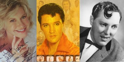 Olivia-Newton John, Elvis, and Bill Haley