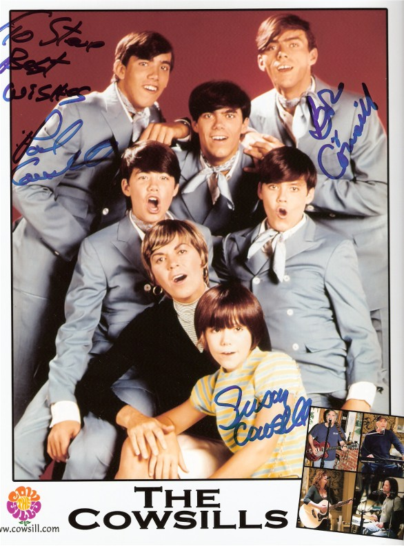 Cowsill Autographed